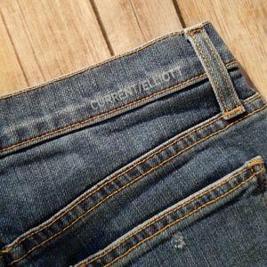 Current/Elliott Shorts - Current/Elliott The Festival Jean Cut Off Short